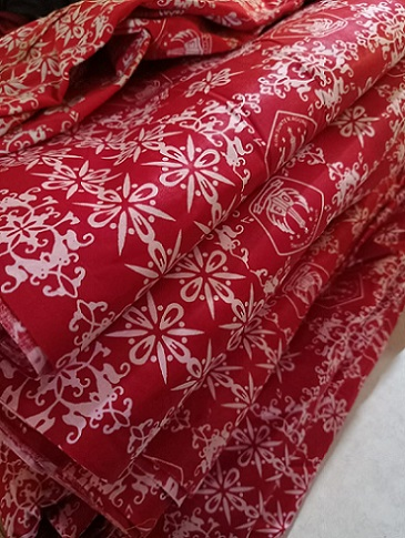 Hasil Produksi Pabrik Batik Handprinting Katun Berkwalitas