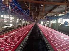 Hasil Produksi Pabrik Batik Katun Printing Manual