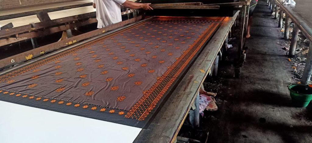 Pabrik Batik Printing Manual Katun Berkualitas
