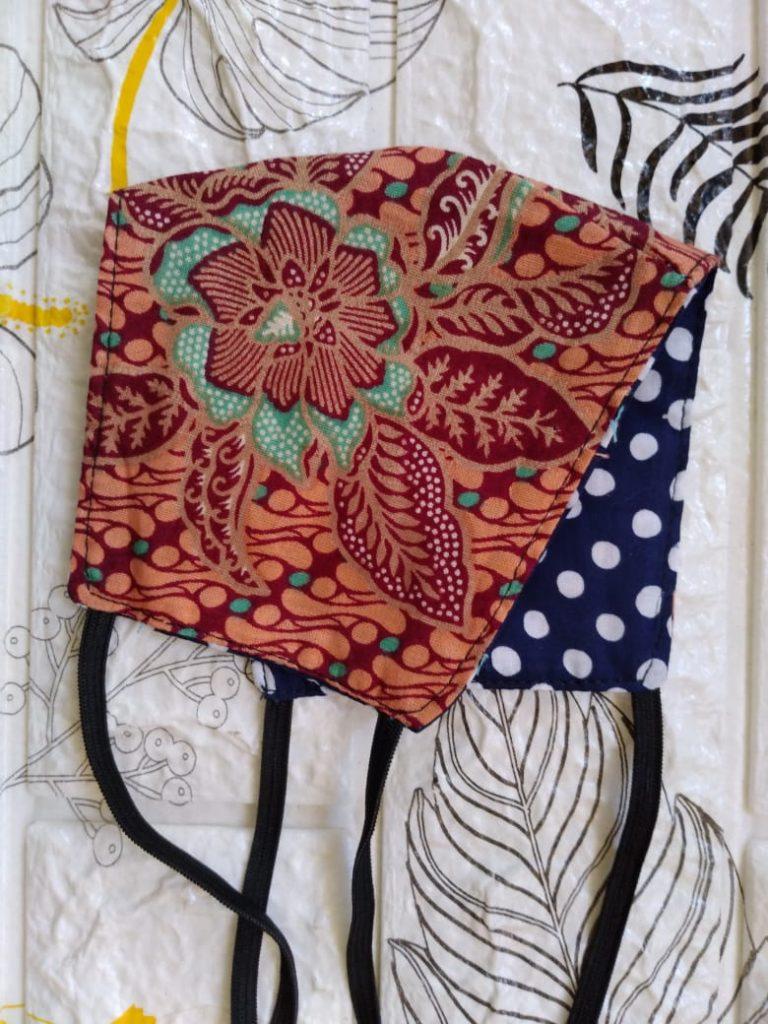 Jenis Model Jual Masker Batik Motif Custom