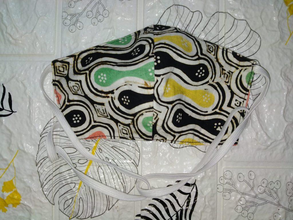 Masker Batik Headloop Di Jual Masker Batik Motif Custom