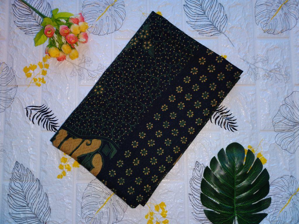 Contoh Batik Printing Bahan Dobby