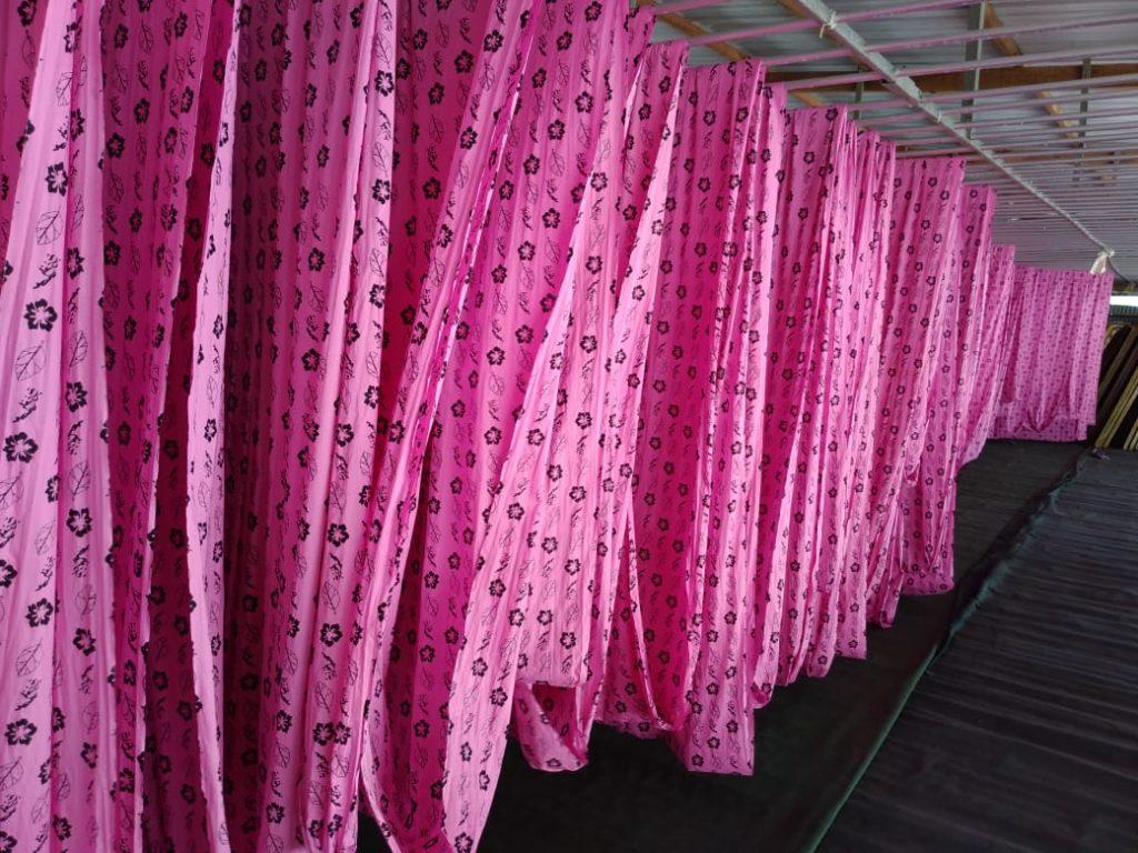 Proses Produksi Batik Printing
