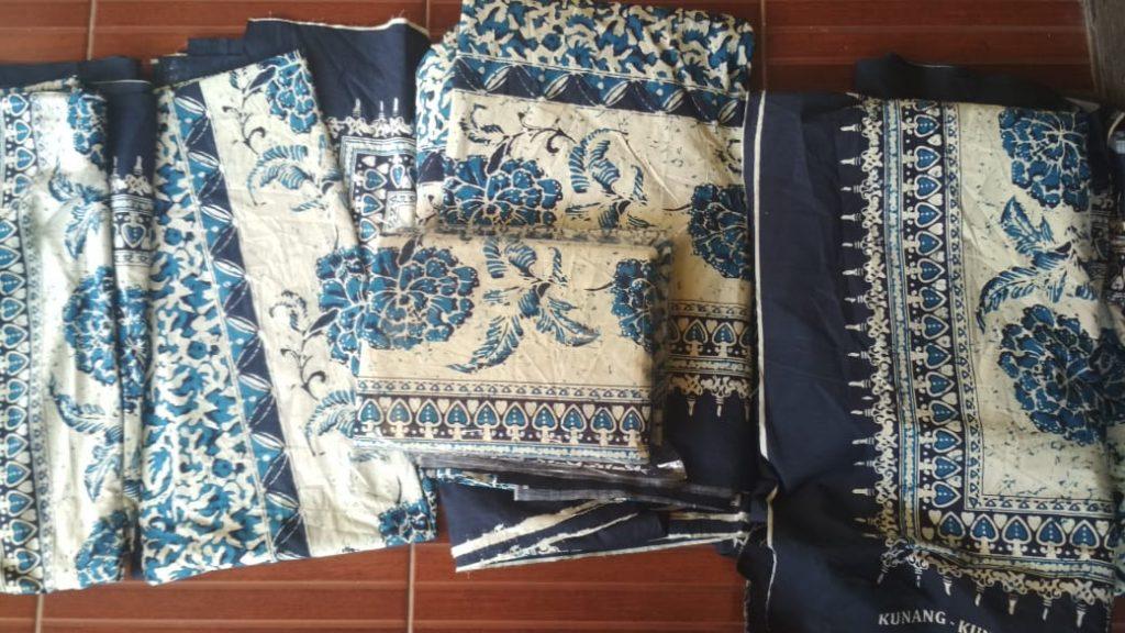 Batik Printing Bahan Katun Rayon