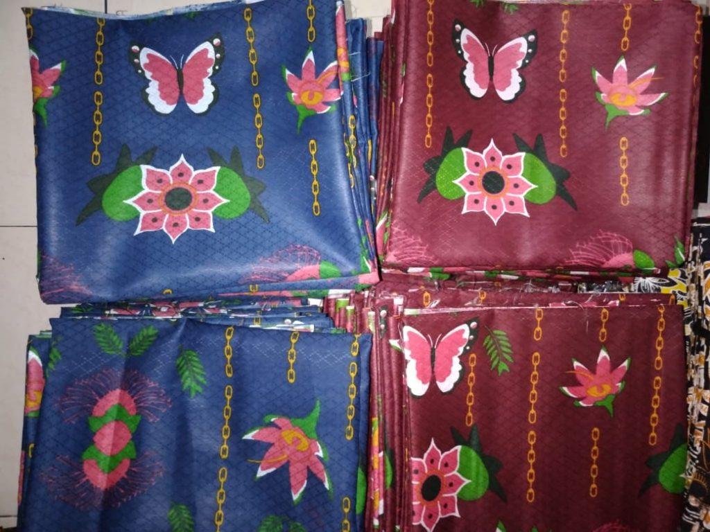 Hasil Produksi Batik Bahan Dobby