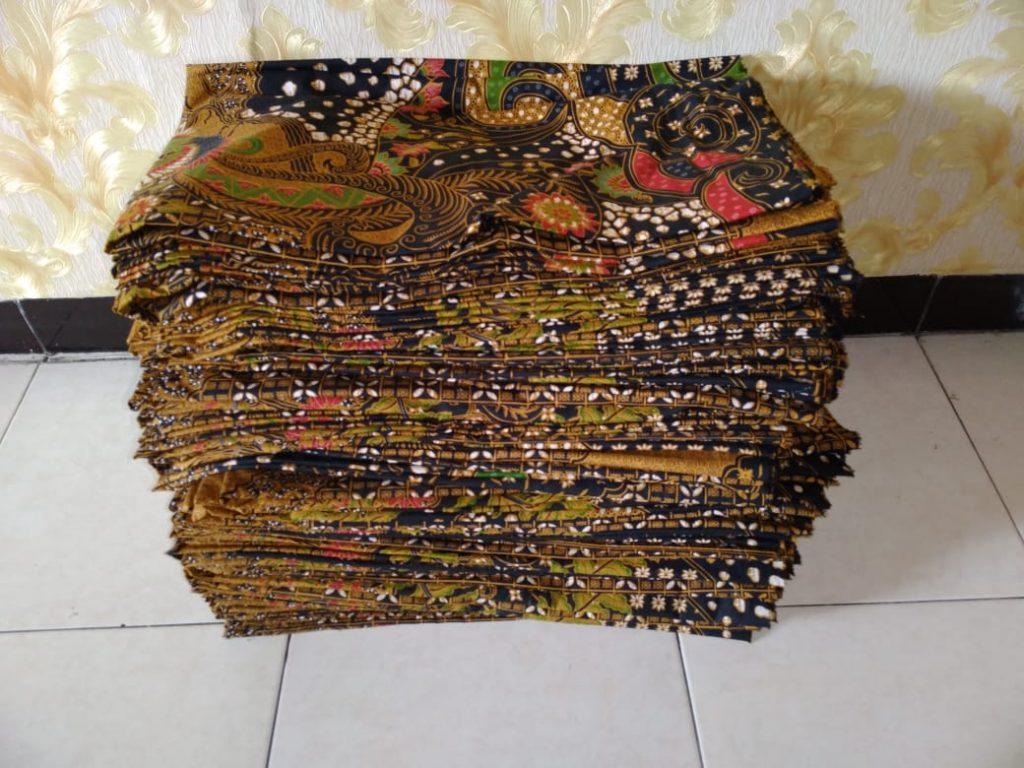 Hasil Produksi Seragam Batik Printing Manual