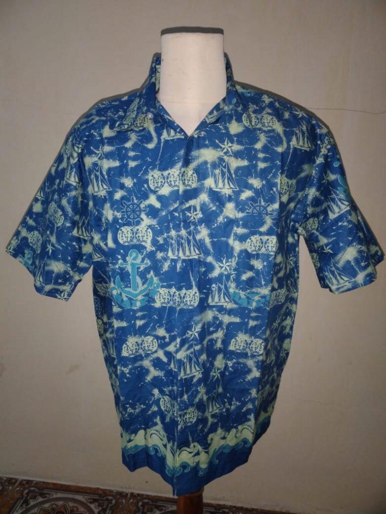 Produk Kemeja Batik Printing dalam Berbagai Model
