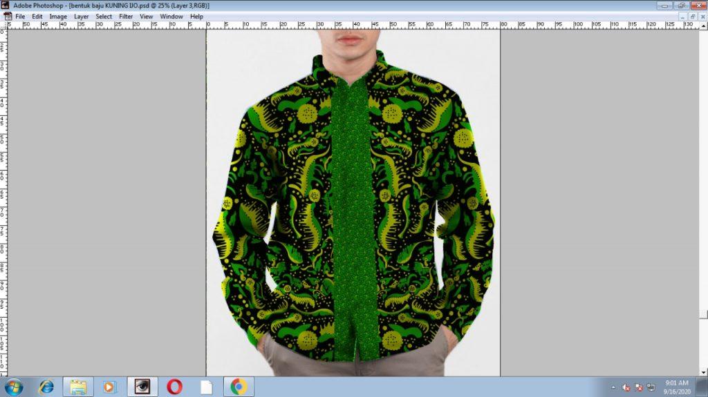 Desain Produk Pakaian Batik