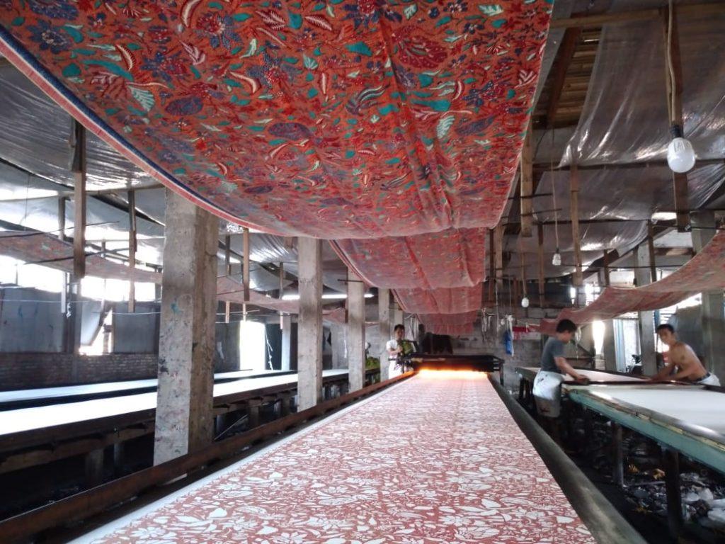 Pabrik Produksi Batik